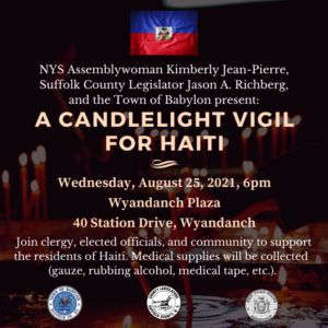 Candlelight Vigil for Haiti Relief